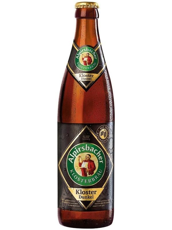 Алпирсбахер Клостерброй Клостер Дункель/Alpirsbacher klosterbraeu Kloster Dunkel 0,5л. алк.5,2%
