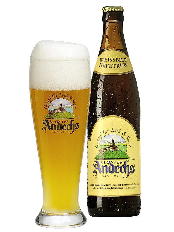 Андексер Вайсбир Хелл / Andechs Weissbier Hell 0,5л. алк.5,5%