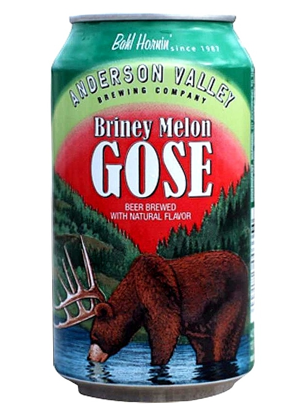 Андерсон Валей Брайни Мелон Гозе/Anderson Valley Briney Melon Gose 0,355л. алк.4,2% ж/б.