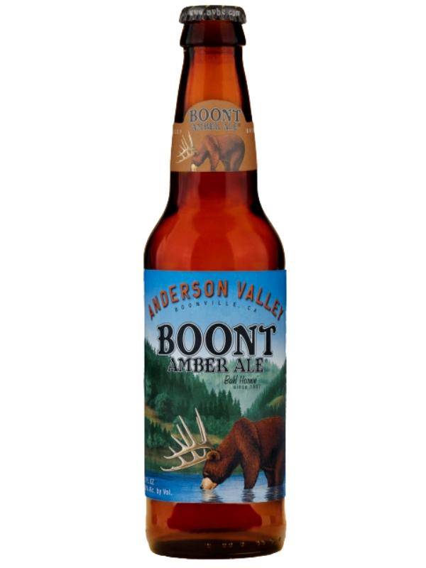 Андерсон Валей Бунт Эмбер Эль / Anderson Valley Boont Amber Ale 0,355л. алк.5,8%