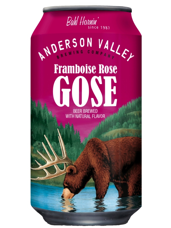Андерсон Валей Фромбуаз Роуз Гозе / Anderson Valley Framboise Rose Gose 0,355л. алк.4,2% ж/б.