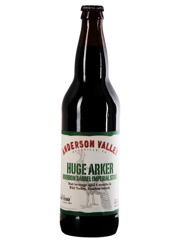 Андерсон Валей Хьюдж Аркер Бурбон Баррел Империал Стаут/Huge Arker Bourbon Barrel Imperial 0,65л. алк.13,5%