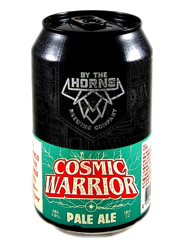 Бай Зе Хорнс Космик Уорио/By The Horns Cosmic Warrior 0,33л. алк.4,8% ж/б.