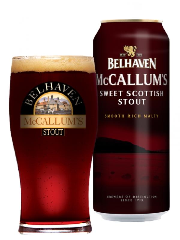 Белхеван МакКаллумс Стаут / Belhaven McCallum`s Stout 0,44л. алк.4,1% ж/б.