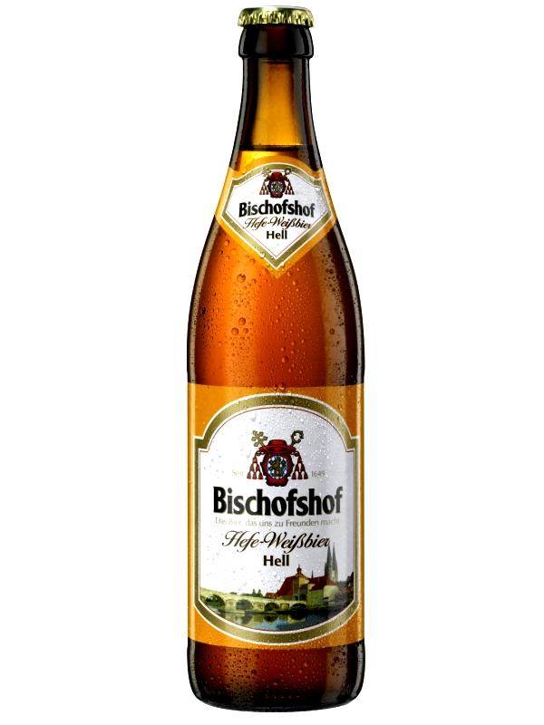 Бишофсхоф Хефе-Вайсбир Хель /  Bischofshof Hefe-Weisbier Hell 0,5л. алк.5,1%
