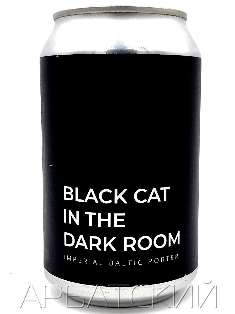 Блэк Кэт Портер V / BLACK CAT IN THE DARK ROOM 0,33л. алк.7% ж/б.