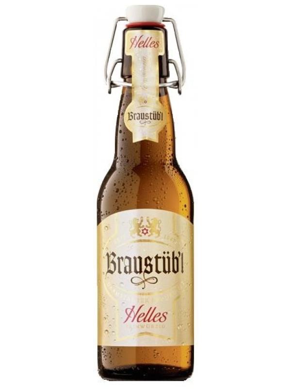 Брауштюбель Хеллес / Braustuebl Helles 0,5л. алк.5,2%