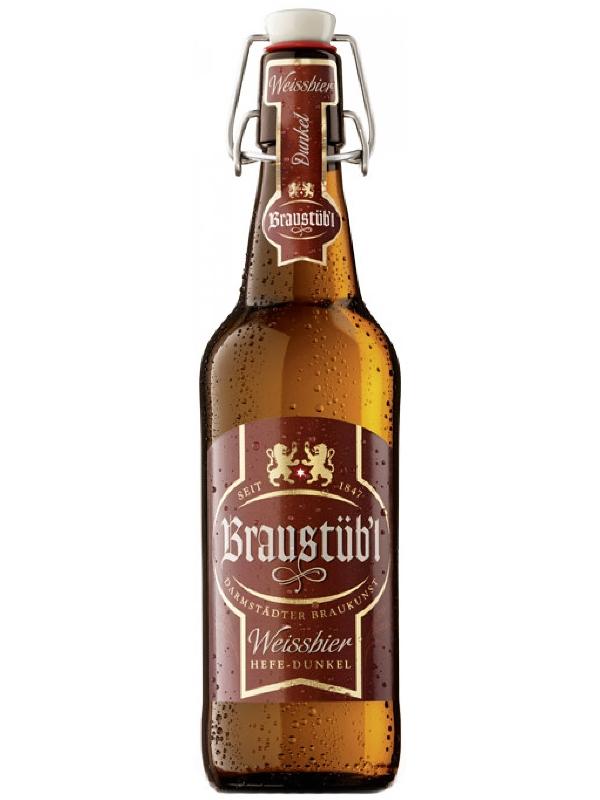 Брауштюбель Вайссбир Хефе-Дункель / Braustuebl Weissbier Hefe-Dunkel 0,5л. алк.4,8%