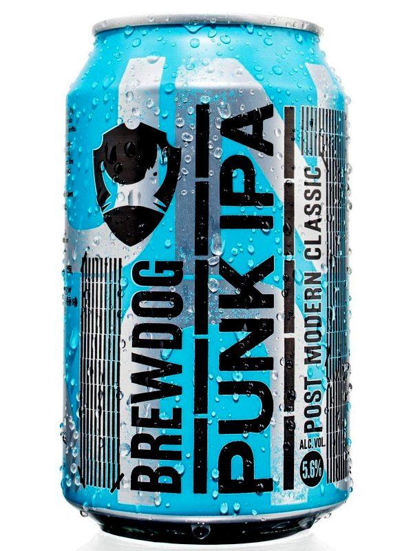 Брюдог Панк ИПА / BrewDog Punk IPA 0,33л. алк.5,6% ж/б.