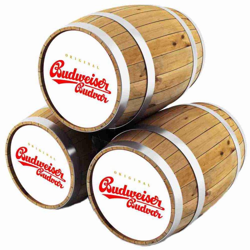 Будвайзер Будвар светлое / Budweiser Budvar, keg. алк.5%