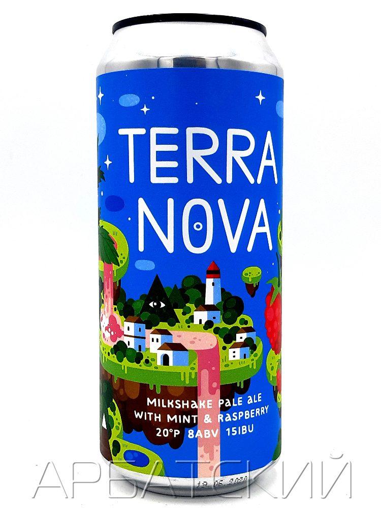 Чаща БрюТайм ДИПА Терра Нова / Chascha Terra Nova 0,5л. алк.7% ж/б.