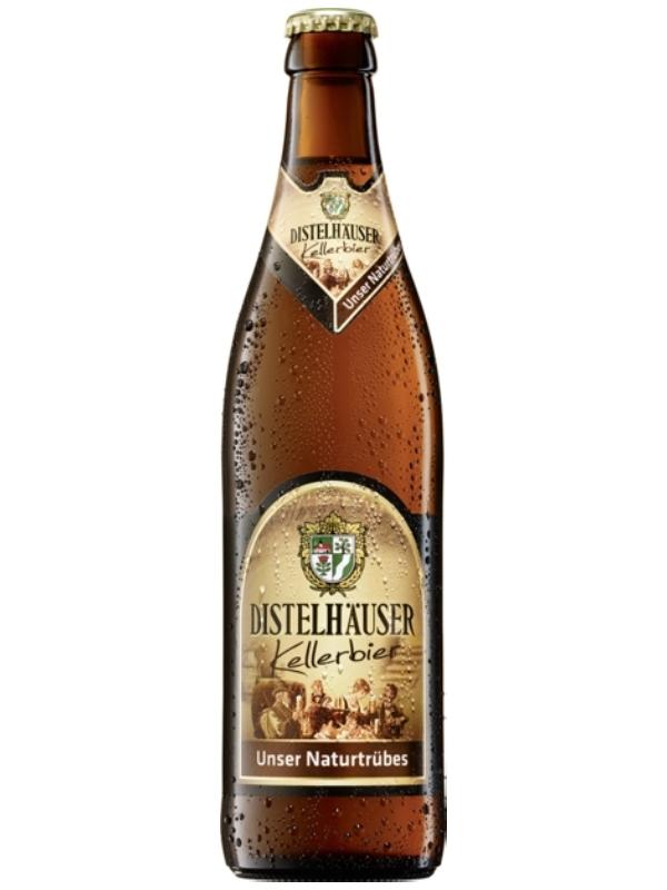 Дистельхойзер Келлербир / Distelhauser Kellerbier 0,5л . алк.5,1%