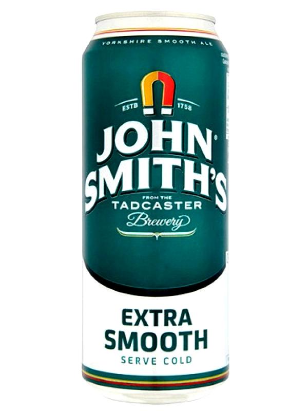 Джон Смит Экстра Смут / John Smits Extra Smooth 0,5л. алк.3,6% ж/б.