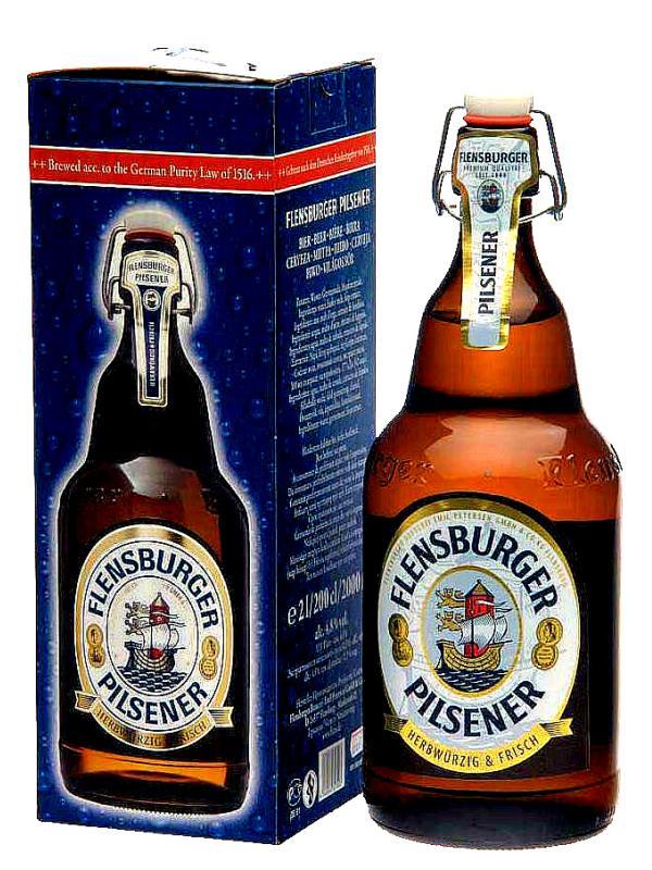 Фленсбургер Пилснер / Flensburger Pilsener 2л. алк.4,8%