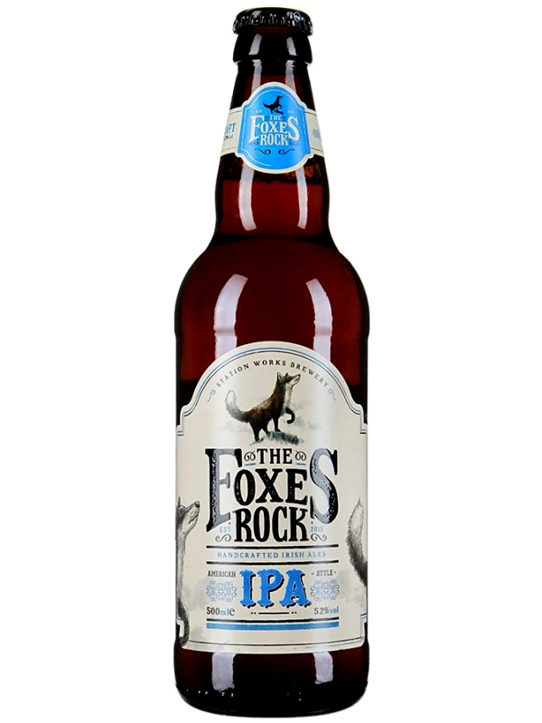 Фоксес Рок Ипа / Foxes Rock IPA 0,5л. алк.5,2%