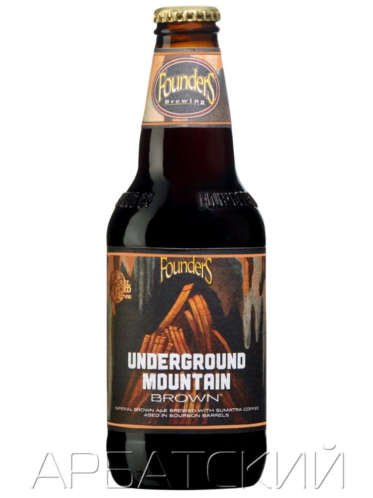 Фоундерс Андеграунд Моунтин Браун/Founders Underground Mountain Brown 0,355л. алк.11,9%
