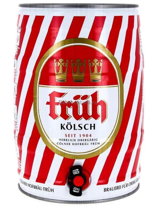 Фрюх Кельш / Fruh Kolsch 5л. алк.4,8% ж/б.