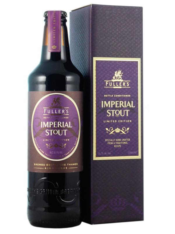Фуллерс Империал Стаут / FULLERS Imperial Stout 0,5л. алк.10,7%