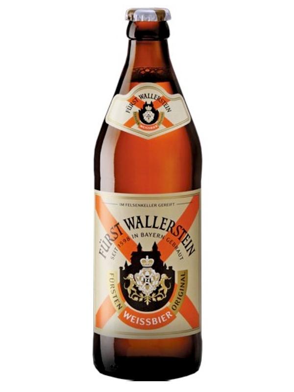 Фюрст Валлерштайн Оригинал Вайсбир/Furst Wallerstein Fursten Original Weissbier 0,5л. алк.5,2%