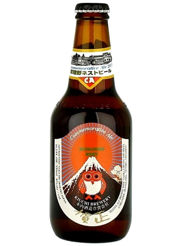 Хитачино Нест Коммеморатив Эль / Hitachino Nest Commemorative Ale 0,33л. алк.8%