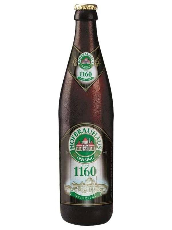 Хофбраухаус 1160 натуртруб / Hofbrauhaus 1160 Naturtrub 0,5л. алк.5,6%