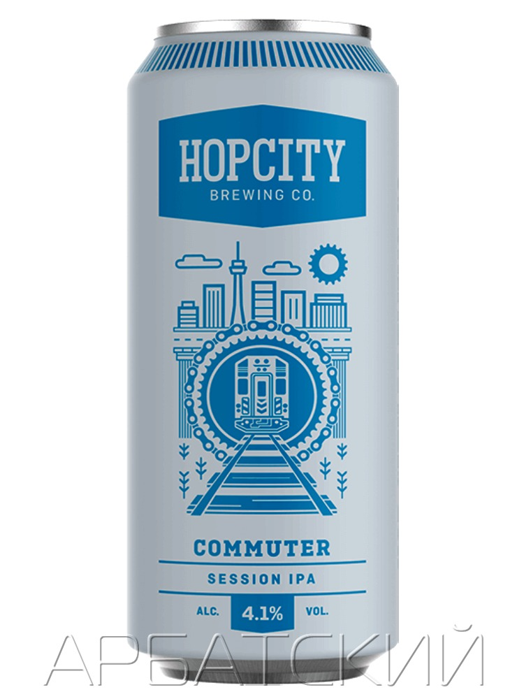 Хопсити Коммутер Сиссон Эль / Hopcity Commuter 0,473л. алк.4,1% ж/б.