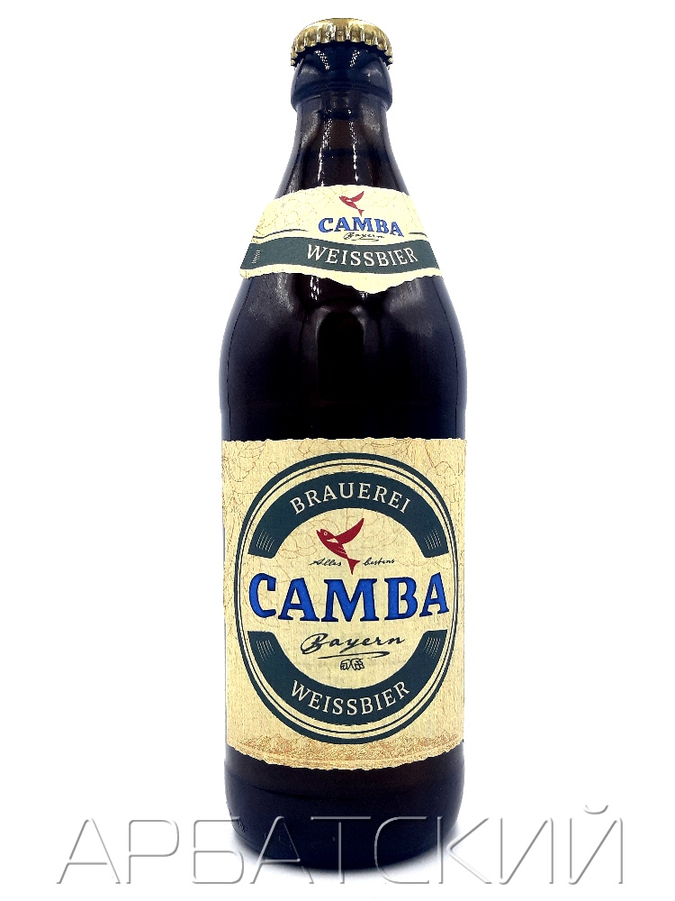 Камба Вайсбир / Camba Weissbier 0,5л. алк.5,3%