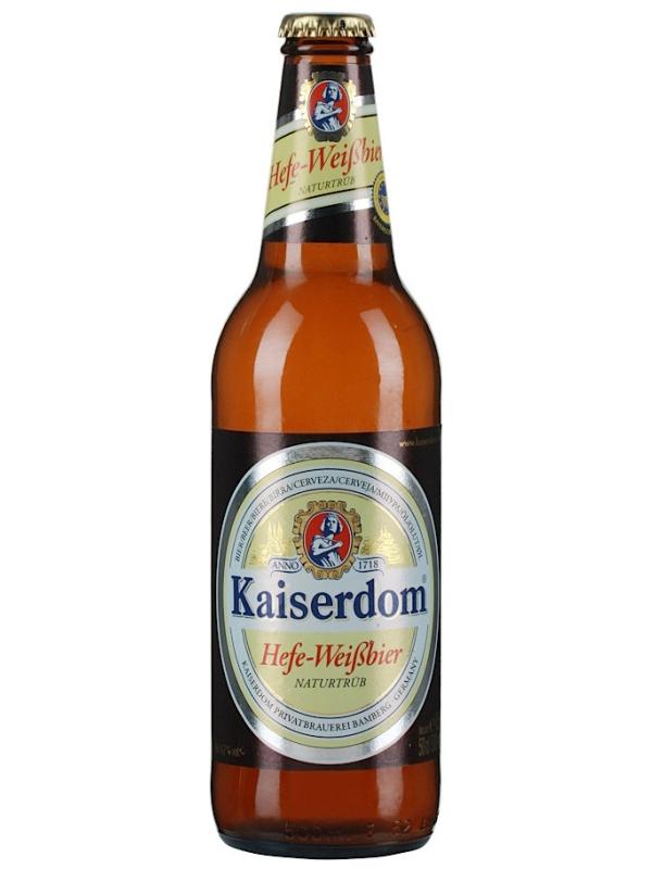 Кайзердом Хефе-Вайсбир / Kaiserdom Hefe-Weissbier 0,5л. алк.4,7%
