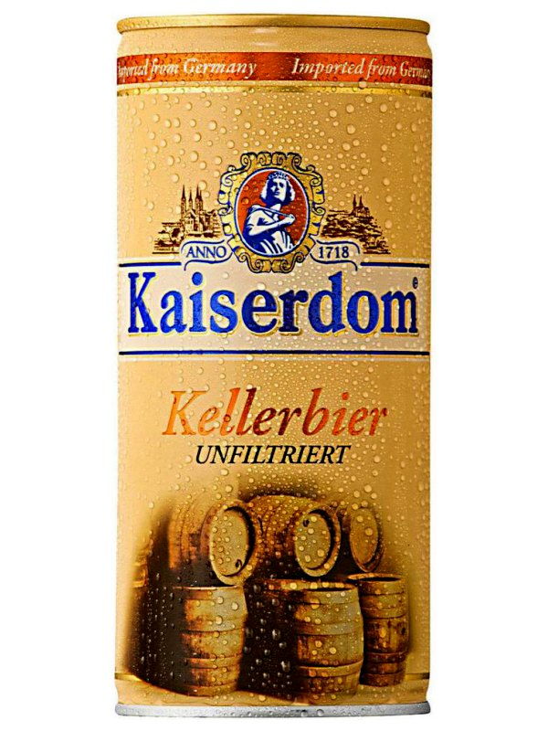 Кайзердом Келлербир / Kaiserdom Kellerbier 1л. алк.4,7% ж/б.