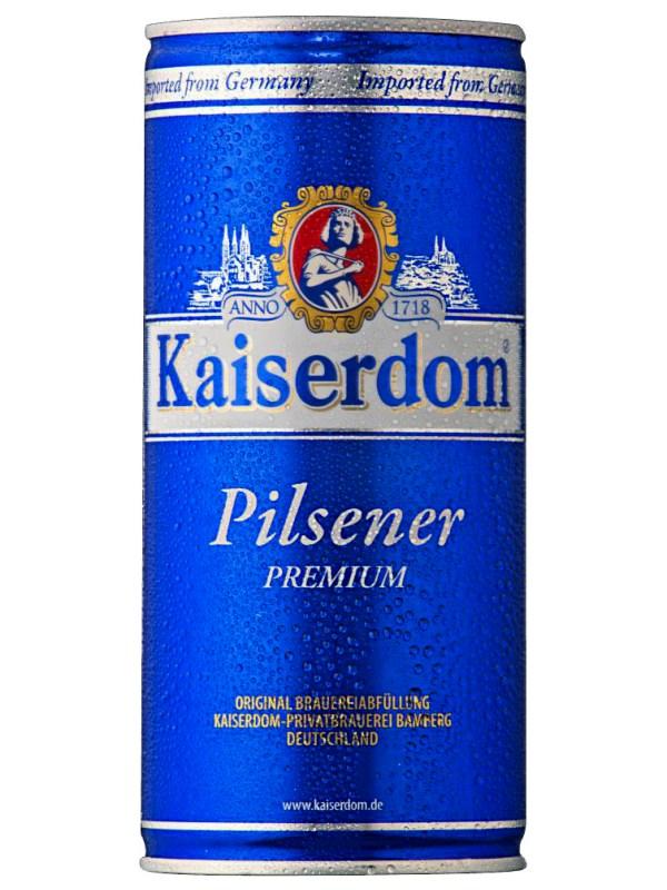 Кайзердом Пилснер / Kaiserdom Pilsener 1л. алк.4,7% ж/б.