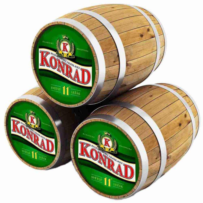 КОНРАД 11 ВРАТИСЛАВСКИЙ ЛЕЖАК / Konrad 11 Svetly Lezak, keg. алк.4,8%