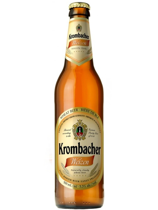 Кромбахер Вайцен / Krombacher Weizen 0,5л. алк.5,3%