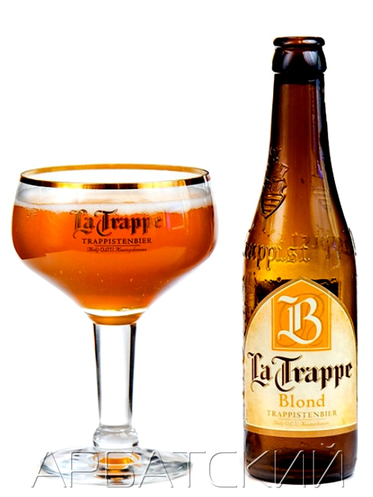 Ла Траппе Блонд / La Trappe Blond 0,33л. алк.6,5%
