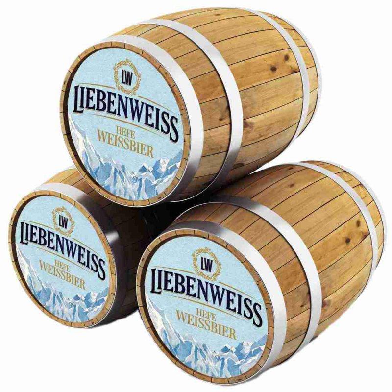 Либенвайс Хефе Вайссбир / Liebenweiss Hefe Weissbier, keg. алк.5,5%
