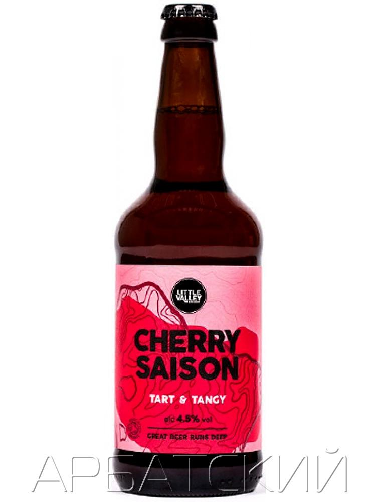 Литл Вели Черри Сайзон /  Little Valley Cherry Saison 0,5л. алк.4,5%
