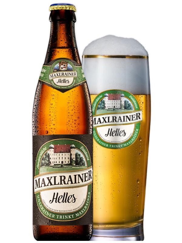 Макслрайнер Хеллес / Maxlrainer Helles 0,5л. алк.4,8%