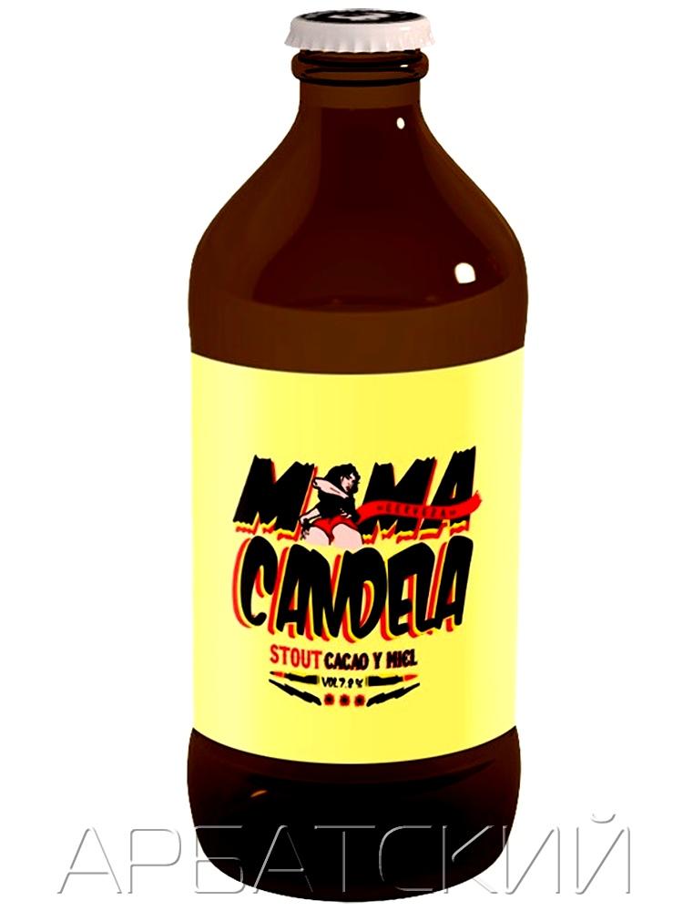 Мамакандела Тропикал Стаут / Mamacandela Tropical Stout 0,35л. алк.7,8%