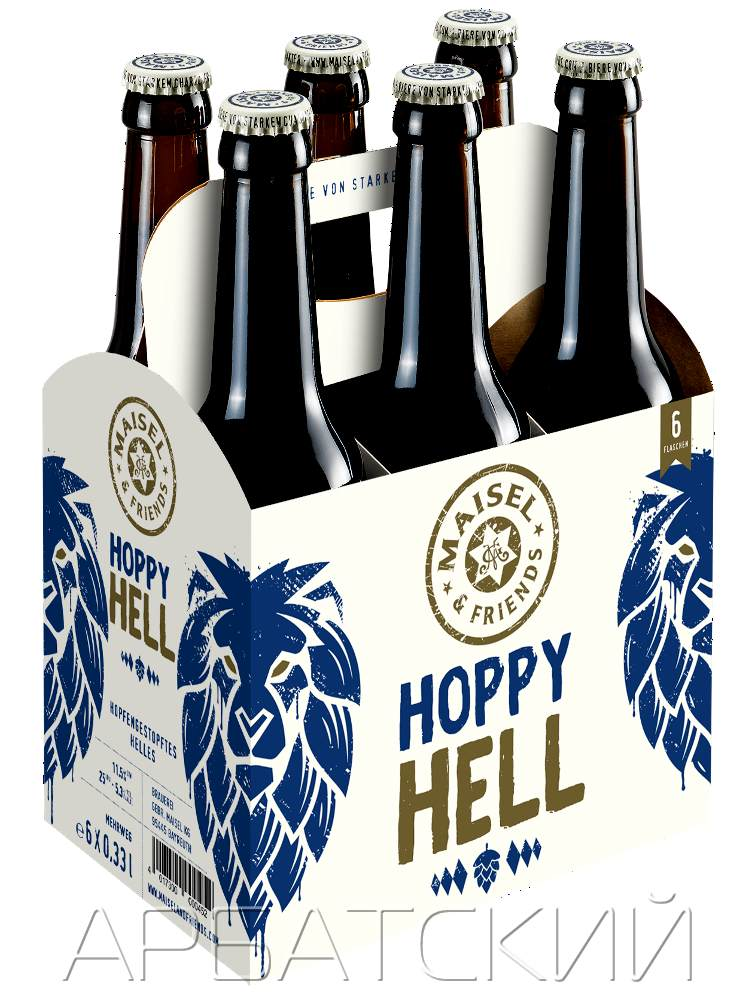 Майзел энд Френдс Хоппи Хелл / Maisel  Friends Hoppy Hell 0,33л. алк.5,3%