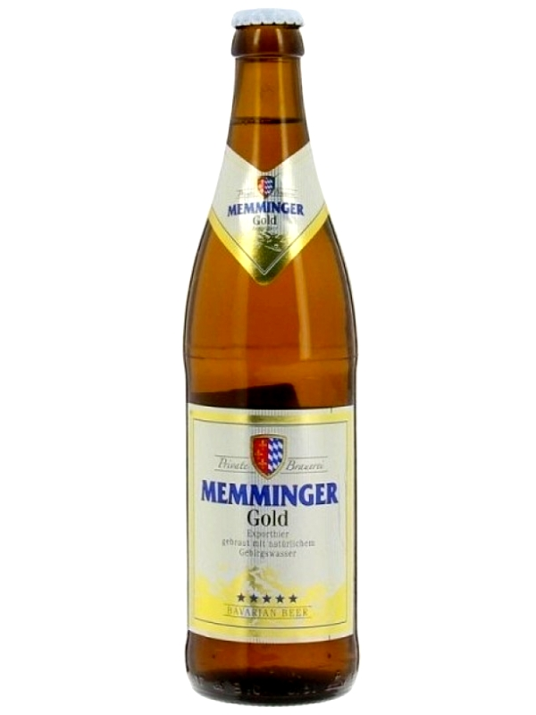 Меммингер Голд Экспорт / Memminger Gold 0,5л. алк.5,3%