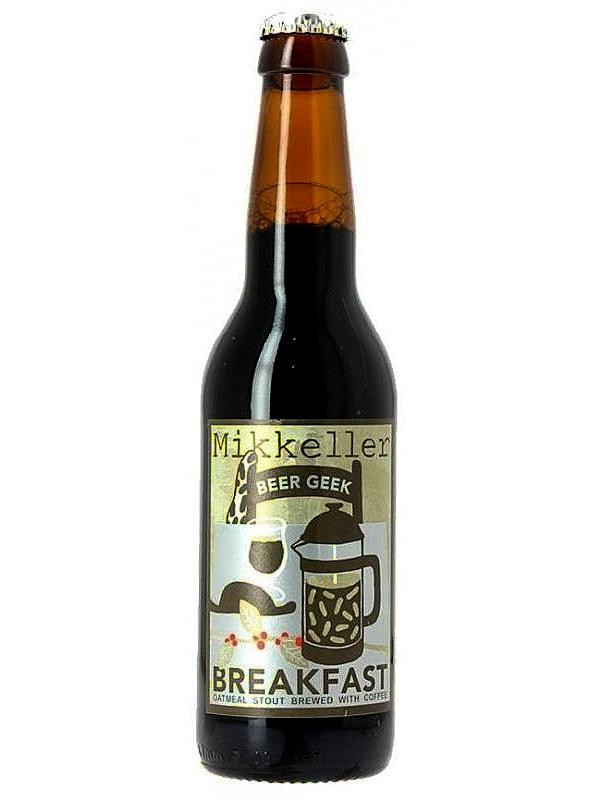 Миккеллер Бир Гик Брекфаст Отмил Стаут / Mikkeller Beer Geek Breakfast 0,33л. алк.7,5%