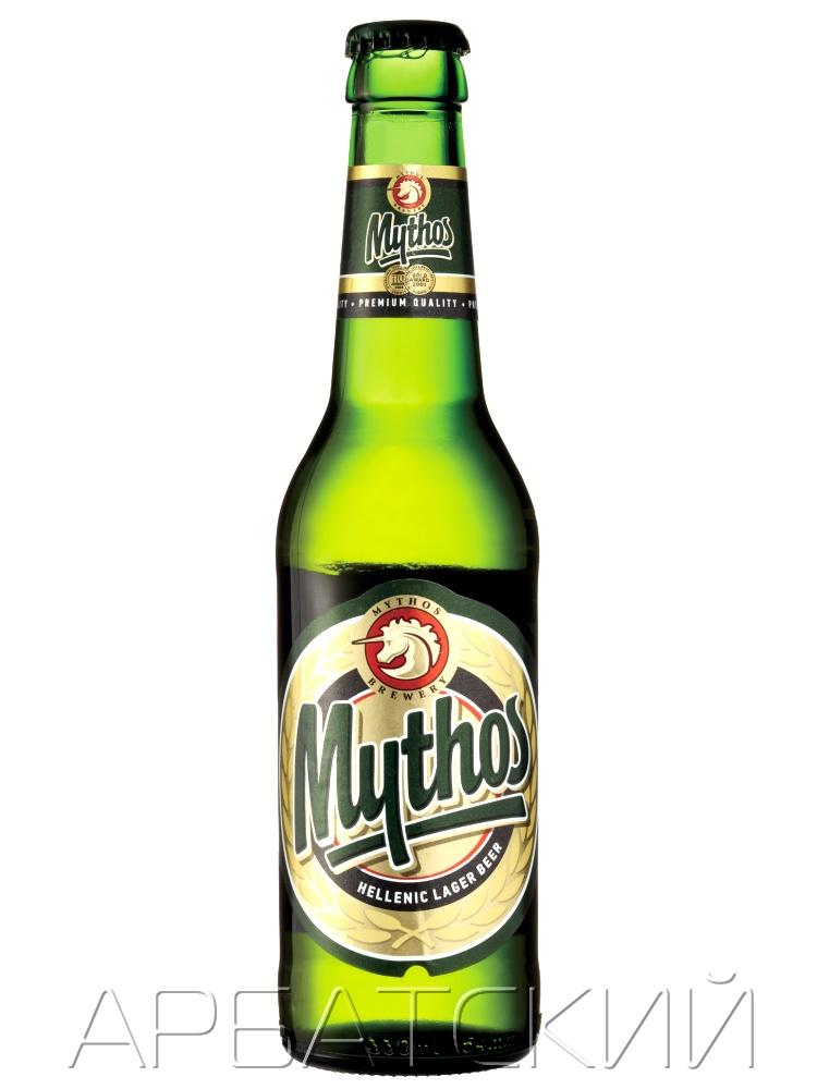 Митос / Mithos 0,33л. алк.4,7%