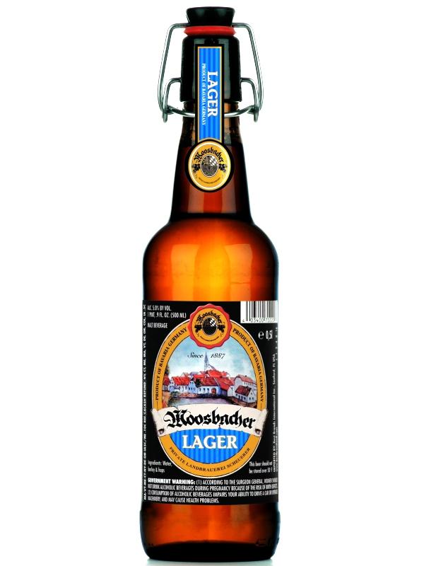 Моосбахер Лагер Хелл / Moosbacher Lager Hell 0,5л. алк.4,6%