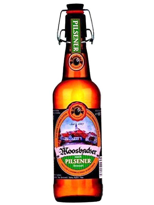 Моосбахер Пилсенер / Moosbacher Pilsener 0,5л. алк.4,9%
