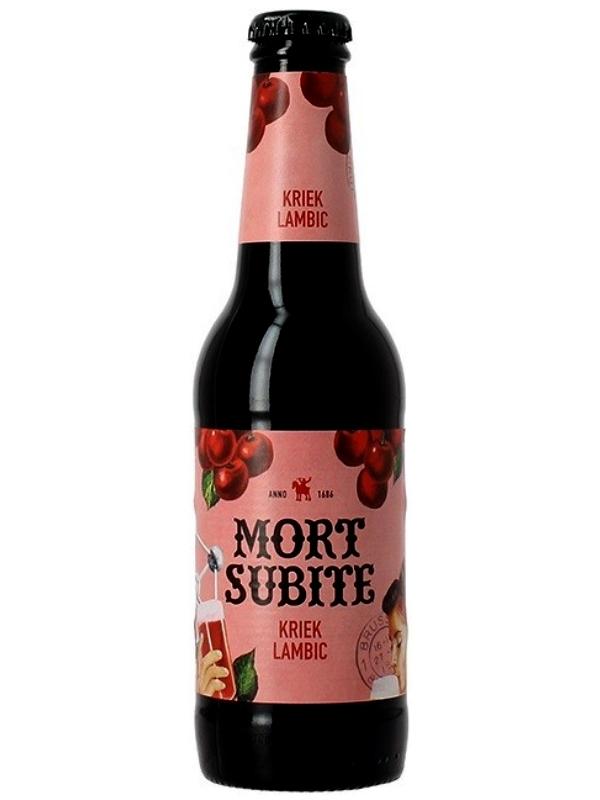 Морт Сюбите Крик Ламбик / Mort Subite Kriek Lambic 0,25л. алк.4%