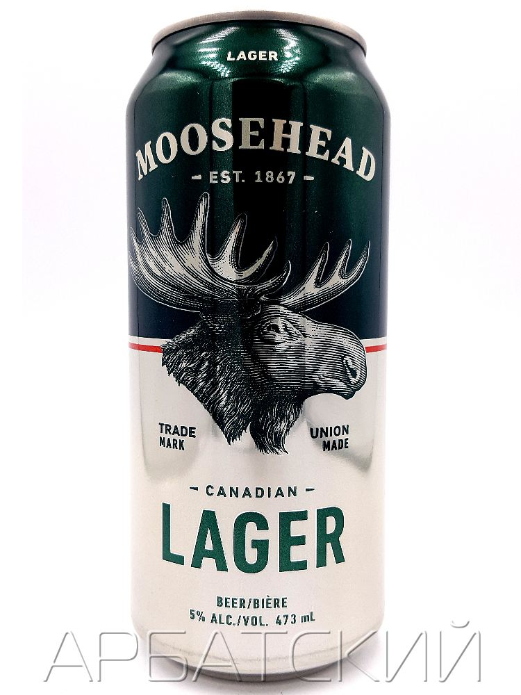 Музхед Лагер / Moosbacher Lager 0,473л. алк.5% ж/б.