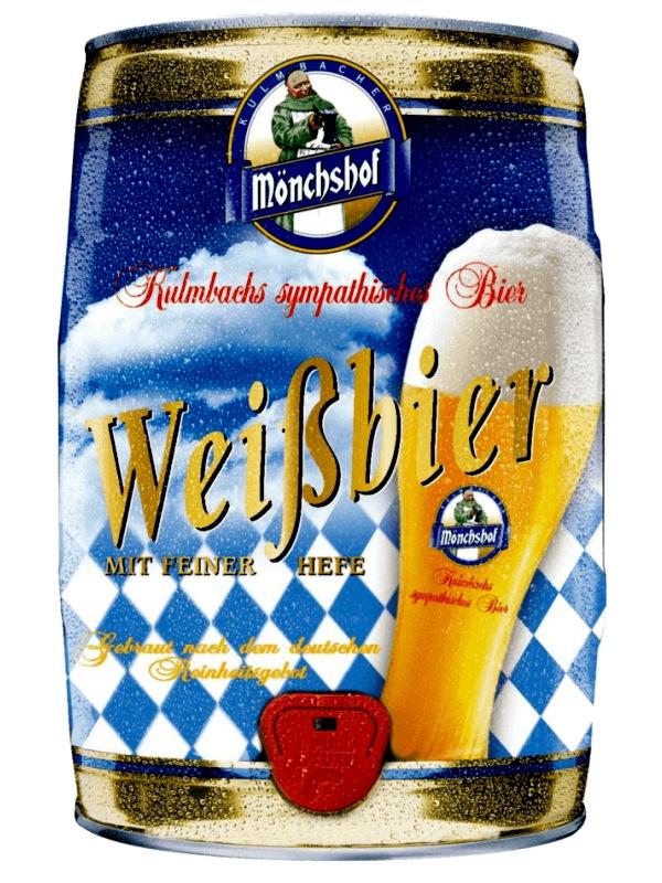 Мюнхоф Вайсбир / Monchshof Weissbier 5л. алк. 5,4% ж/б.
