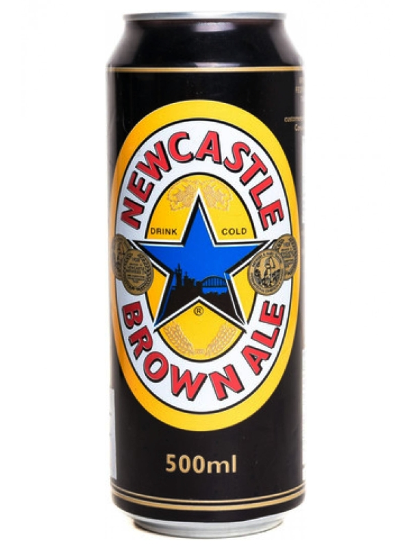 Ньюкасл / Newcastle Brown Ale 0,5л. алк.4,7% ж/б.