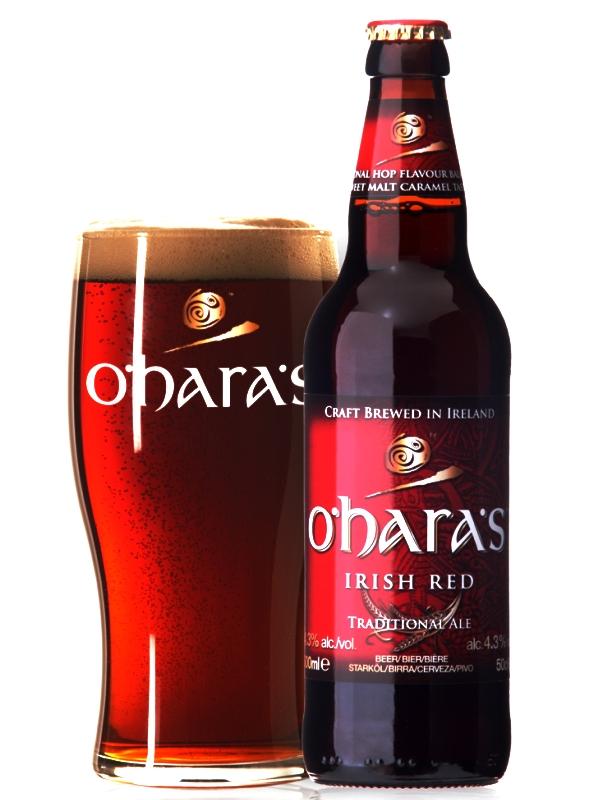 О`Хара Айриш Ред эль / O`Hara`s Irish Red 0,5л. алк.4,3%