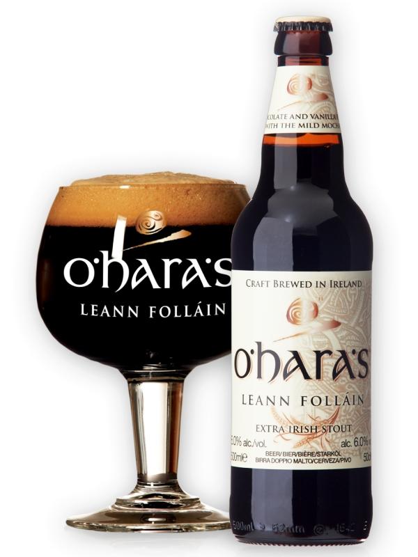 """О'Хара"""" Лейн Фолейн  /  O_Hara_s Leann Follain Barrel Aged Series 0,75л. алк.8,1%"""