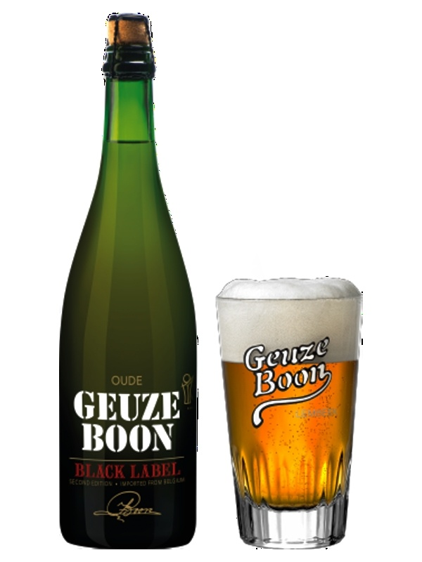 Оуде Геузе Б.Блэк Лейбл / Oude Geuze Boon Black Label 0,75л. алк. 7%